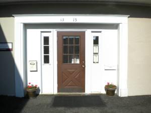 geranium front door